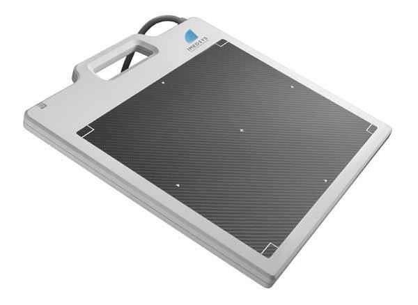 Multipurpose radiography flat panel detector / portable IMV 1210 Imedsys