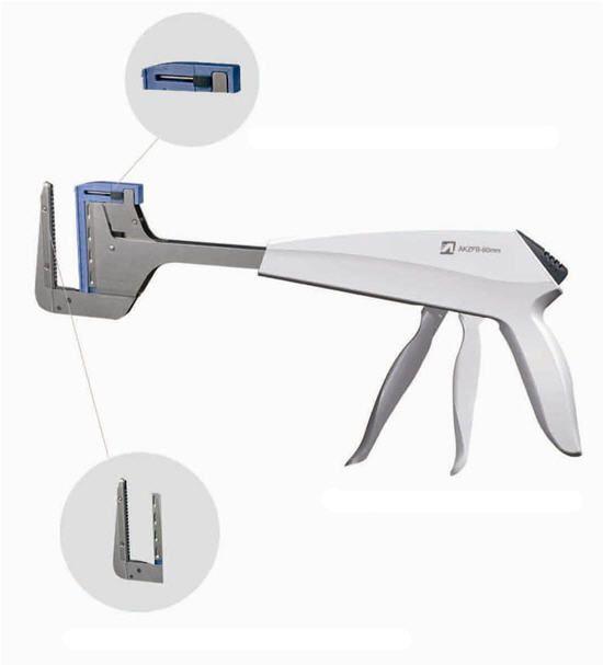 Linear stapler / surgical AKZFB-60 Jiangsu Kangjin Medical Instruments