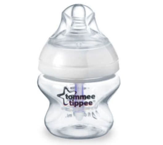 Baby bottle without bisphenol A / polypropylene Advanced Comfort™ tommee tippee