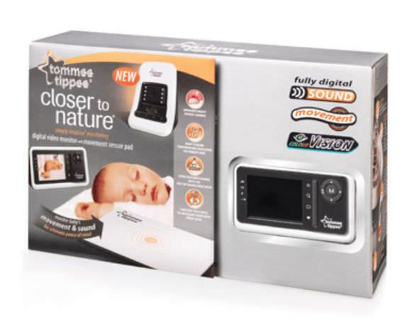 Baby monitor movement tommee tippee