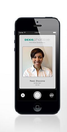 Image capture iOS application / for dental imaging DEXIS photo DEXIS