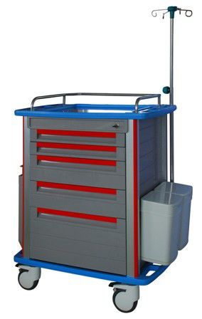 Emergency trolley / stainless steel ET-1000 Advanced Instrumentations