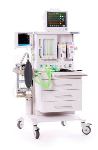 Anesthesia workstation with gas blender / 6-tube AM-6000 Advanced Instrumentations