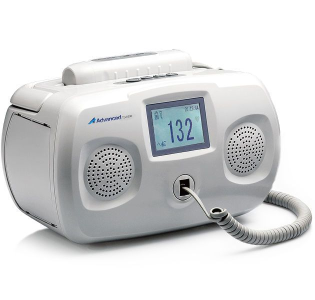 Fetal doppler / portable / with cordless probe / with heart rate monitor TD-5000 Advanced Instrumentations