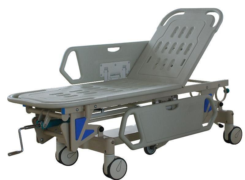 Transport stretcher trolley / pneumatic / 2-section ST-100 Advanced Instrumentations