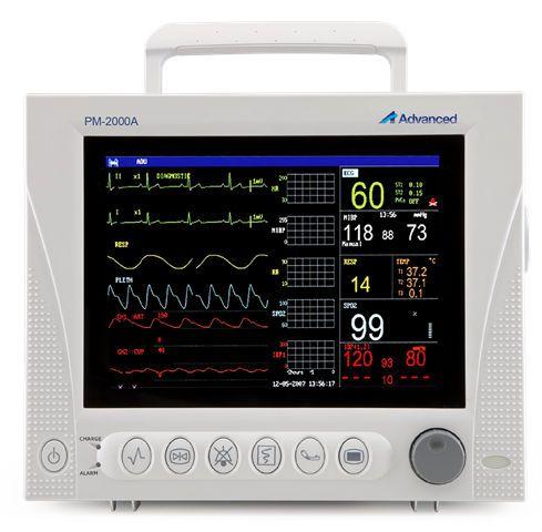 NIBP multi-parameter monitor / RESP / ECG / TEMP PM-2000A Advanced Instrumentations