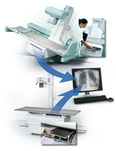 Multipurpose radiography flat panel detector VDX 3543 Villa Sistemi Medicali