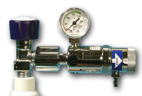 Oxygen pressure regulator / adjustable-flow 1 - 15 L/mn Teutotechnik