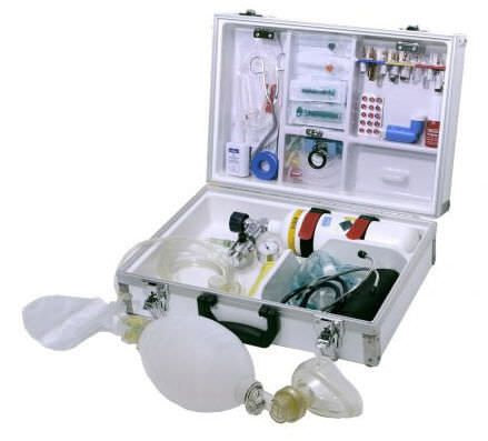 Cardiopulmonary resuscitation medical kit EUROSAFE DENTAL Teutotechnik