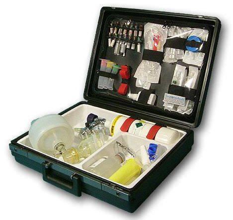 Cardiopulmonary resuscitation medical kit AK 400 Teutotechnik