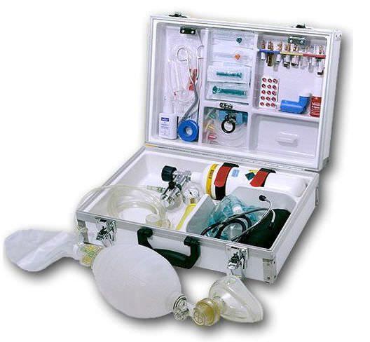 Cardiopulmonary resuscitation medical kit EUROSAFE DOCTOR Teutotechnik