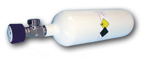 Oxygen cylinder 0.8 - 10 L Teutotechnik