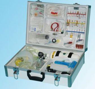 Cardiopulmonary resuscitation medical kit EUROSAFE II Teutotechnik