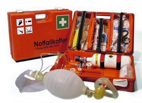 Cardiopulmonary resuscitation medical kit KOMBI Teutotechnik