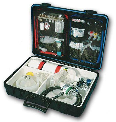Cardiopulmonary resuscitation medical kit WATERSPORT Teutotechnik