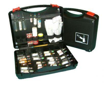 Drug-ampoule medical kit CASE II Teutotechnik