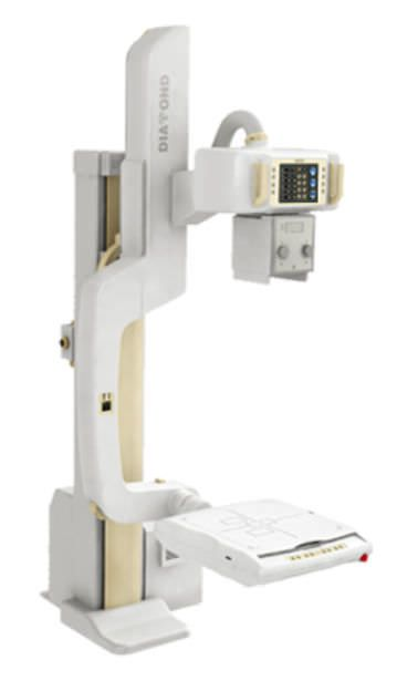 Radiography system (X-ray radiology) / digital / for multipurpose radiography / with tube-stand DIAMOND DR DRGEM