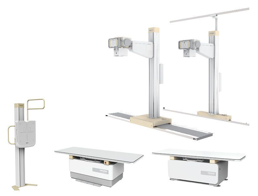 Radiography system (X-ray radiology) / digital / for multipurpose radiography / with tube-stand GXR-SD Series DRGEM