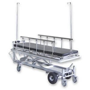 Transport stretcher trolley / X-ray transparent / height-adjustable / electrical MB4010 Sunpex Technology