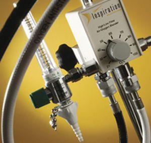 Respiratory gas blender / O2 / air Inspiration Healthcare