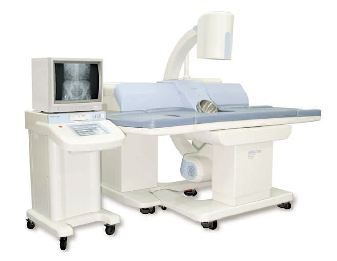 Extracorporeal lithotripter / with C-arm / with lithotripsy table ANGEL 7700 GEMSS Medical Systems