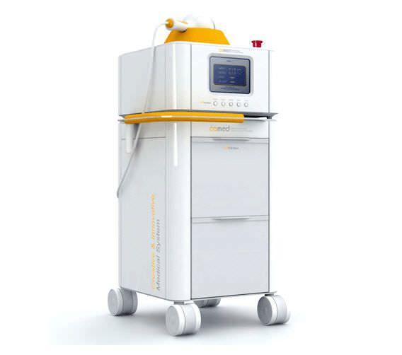 Orthopedic treatment extra-corporeal shock wave generator / human / on trolley VITERA GEMSS Medical Systems