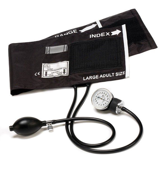 Cuff-mounted sphygmomanometer 80-OB Prestige Medical