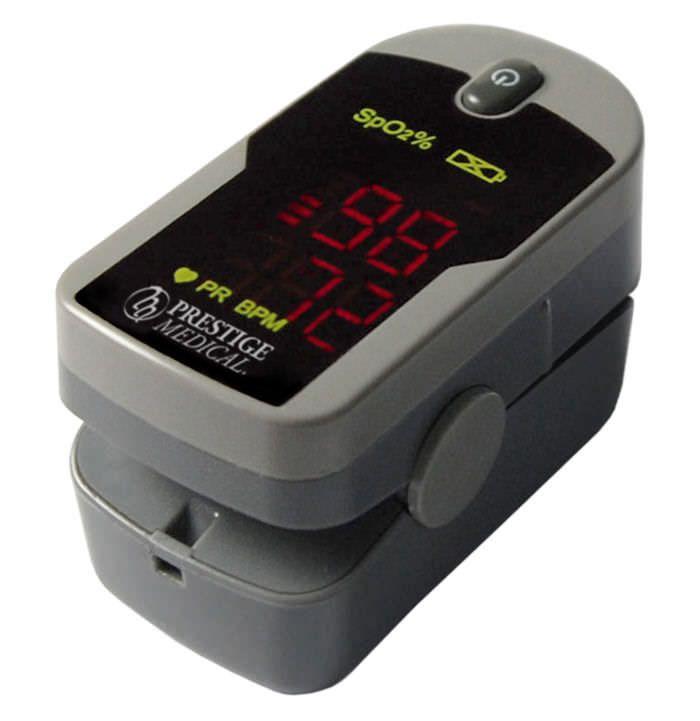 Compact pulse oximeter / fingertip 455 Prestige Medical