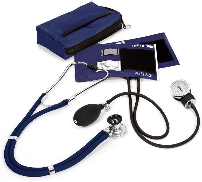 Cuff-mounted sphygmomanometer / with stethoscope Criterion Plus™ A85-122 Prestige Medical