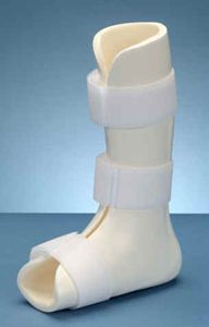 Ankle and foot orthosis (AFO) (orthopedic immobilization) / flexible Boston Brace