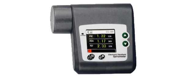 Electronic peak flow meter TeleBreather™ SHL Telemedicine