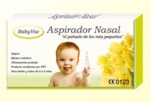 Nasal aspirator (nasal lavage) / manual / pediatric BABY-VAC™ Baby-Vac