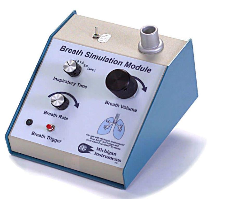 Breathing simulator Michigan Instruments