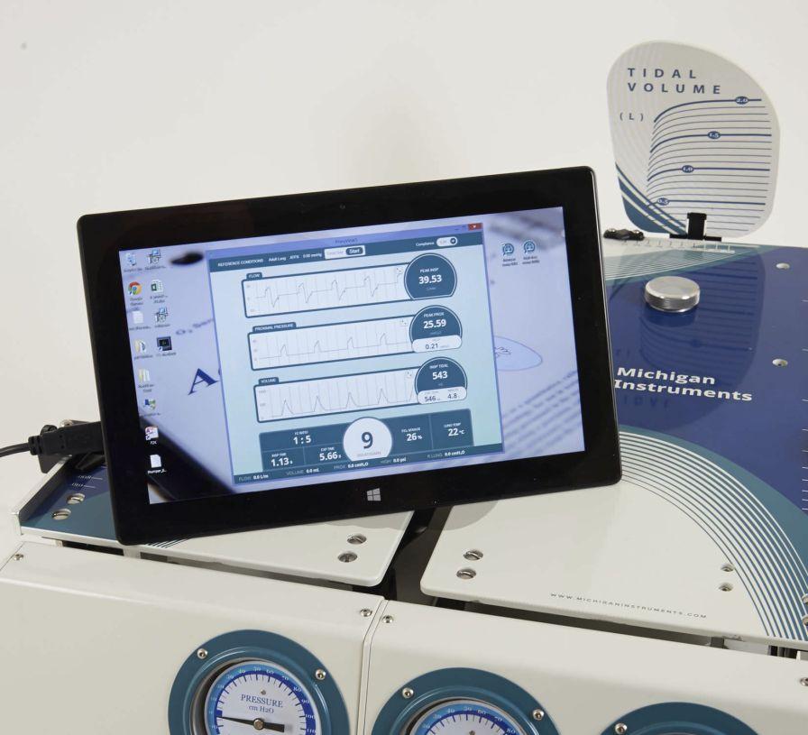 Analysis software / pulmonary testing / medical Michigan Instruments