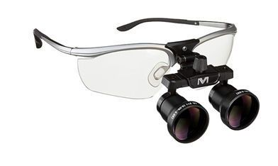 Magnifying loupe with frames Z10, Z11 Visiomed