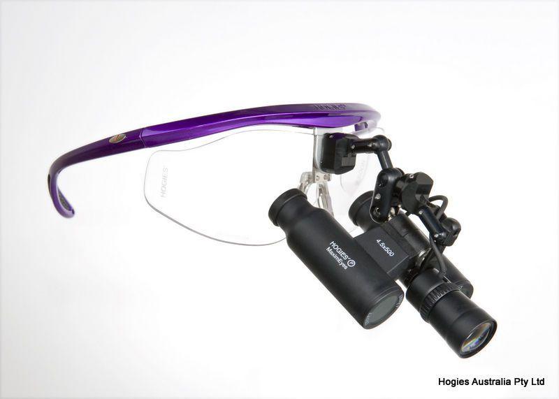 Binocular loupe headlight / LED / flexible YNA Super LED Hogies