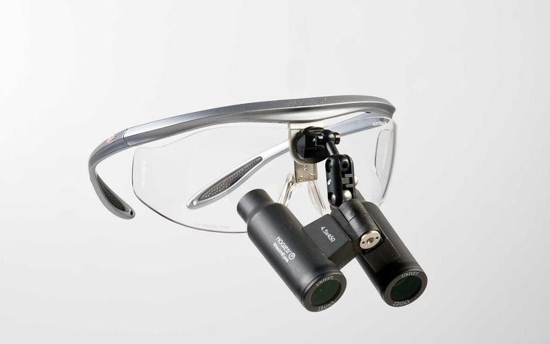 Magnifying loupe with frames Prismatic 6.0X Hogies