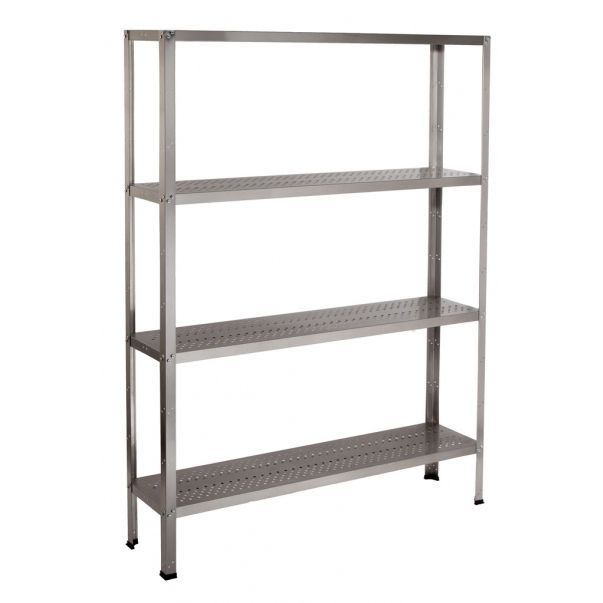 Stainless steel shelving unit 2.13.002 Lubb