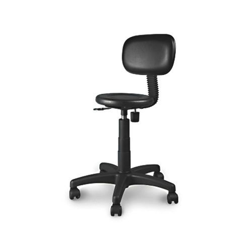 Medical stool / on casters / with backrest 2.07.005 Lubb