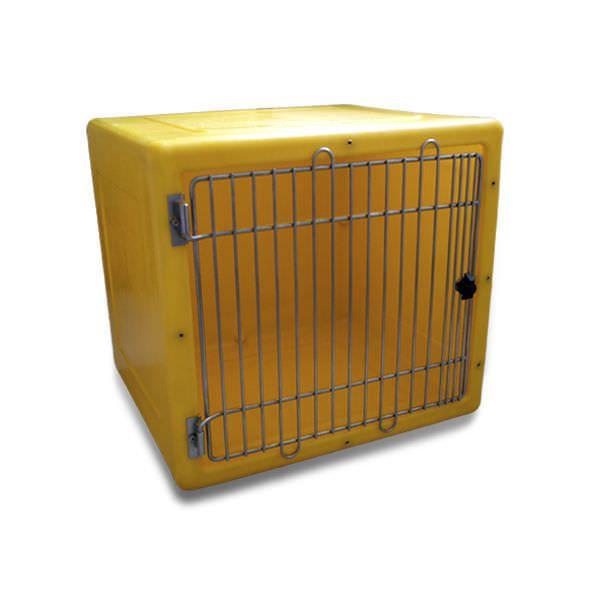 Polyethylene kennel cage / modular 2.03.003 Lubb