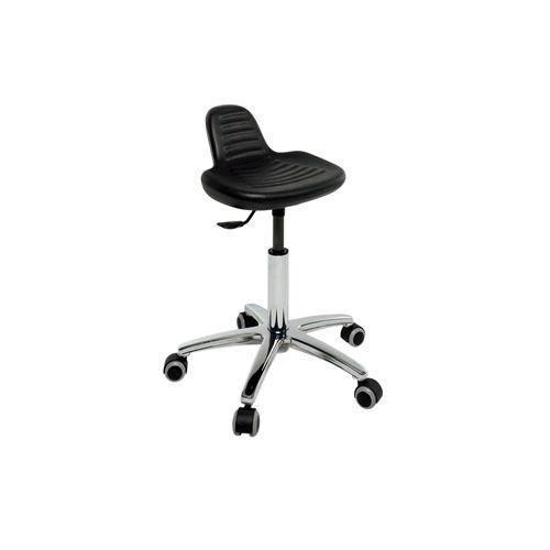 Medical stool / height-adjustable / on casters / rotating 2.07.008 Lubb