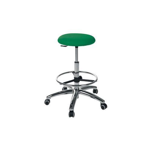 Medical stool / on casters / height-adjustable / rotating 2.07.007 Lubb