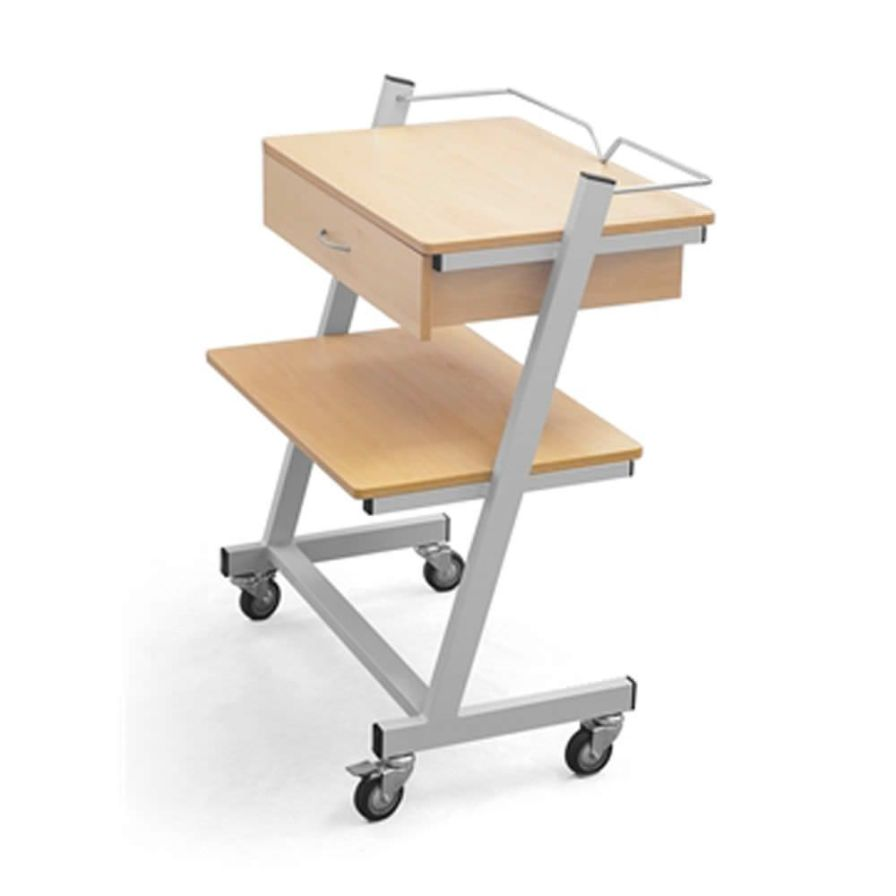 Multi-function trolley / medical device / 1-tray / 1-drawer 2.02.027 Lubb