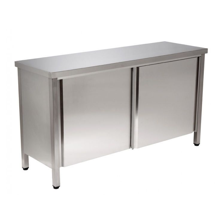 Work table / stainless steel 2.02.017 Lubb