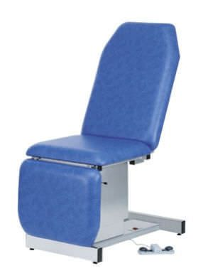 Electrical examination table / height-adjustable / 3-section 130 kg | 32608T CARINA