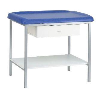 Pediatric examination table / fixed / 1-section 80 kg | PEDIA03 CARINA