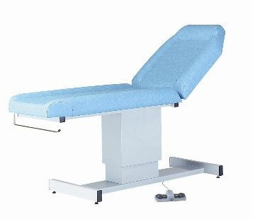 Electrical examination table / height-adjustable / 2-section 130 kg | 32604L CARINA