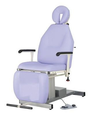 ENT examination chair / electrical / height-adjustable / 3-section 130 kg | 51208TORL CARINA