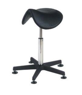 Medical stool / height-adjustable / saddle seat 6511 CARINA