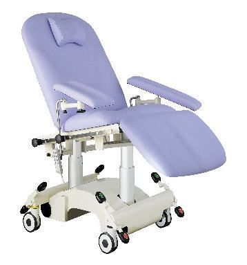 Electrical treatment armchair / on casters / height-adjustable 200 kg | MULTIKA CARINA